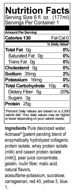 Protein Gem Nutrition Facts