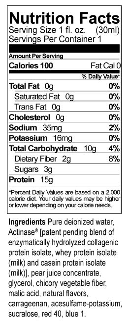 Protein Candy Nutrition Facts