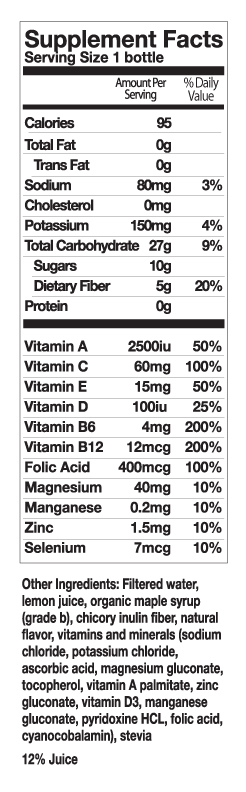Simplifast Nutrition Facts